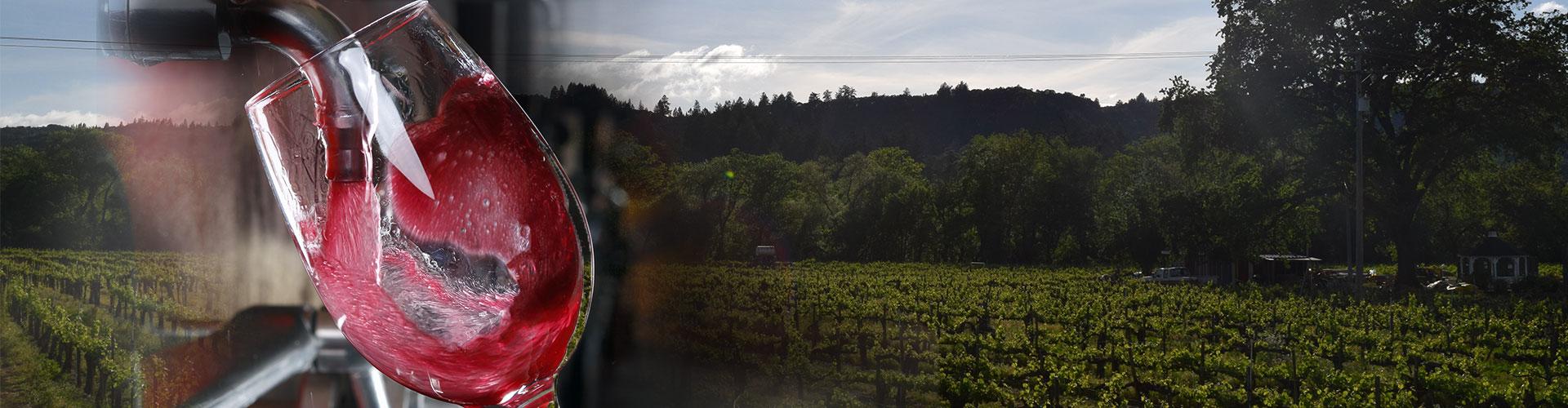 farm to glass keg wine